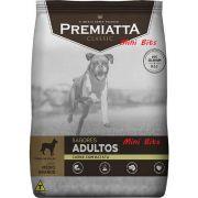 Ração Premiatta Sabores Carne com Batata Mini Bits (Grãos Pequenos) para Cães Adultos - Gran Premiatta (15 kg)