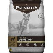 Ração Premiatta Sabores Carne com Batata para Cães Adultos de Raças Médias e Grandes - Gran Premiatta (15 kg)