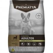 Ração Premiatta Sabores Carne com Batata para Cães Adultos de Raças Miniaturas e Pequenas - Gran Premiatta (2 kg)