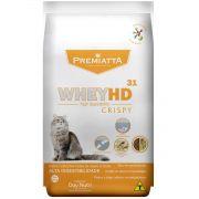 Ração Premiatta Whey HD 31 Crispy para Gatos Castrados de todas as raças e idades (1 kg=20x50g)