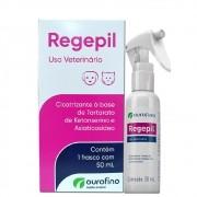 Regepil - Cicatrizante à base de Tartarato de Ketanserina e Asiaticosídeo - OuroFino (50 ml)