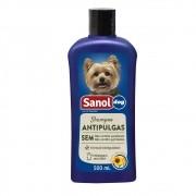 Shampoo Antipulgas Sanol Dog para Cães - Protege, Tonifica e Revitaliza (500 ml) - Total Química