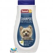 Shampoo Antipulgas Sanol Dog para Cães - Protege, Tonifica e Revitaliza - Total Química (500 ml)