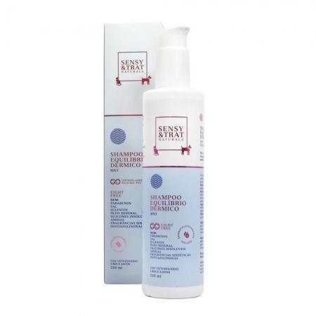 Shampoo Equilíbrio Dérmico Sensy & Trat para Cães e Gatos - Centagro (250 ml)