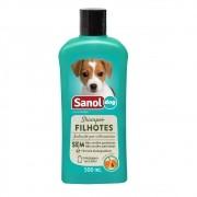 Shampoo Filhotes Sanol Dog para Cães e Gatos (500 ml) - Total Química