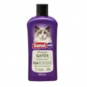 Shampoo Gatos Sanol Cat - Total Química (500 ml)