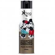 Shampoo K Dog Mickey e Amigos para Cães e gatos de Pelos Escuros (500ml) - Total Química
