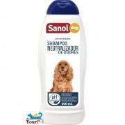 Shampoo Neutralizador de Odores Sanol Dog para Cães e Gatos - Total Química (500 ml)