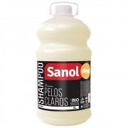 Shampoo Pelos Claros Sanol Dog para Cães e Gatos (5 litros) - Total Química