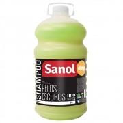 Shampoo Pelos Escuros Sanol Dog para Cães e Gatos (5 litros) - Total Química
