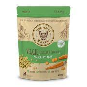 Snacks Assados Dog Menu Baked Veggie (Ervilha e Cenoura) para Cães Adultos de todos os portes - Luopet (180g)