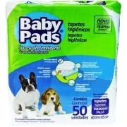 Tapete Higiênico Baby Pads para Cães de todas as raças e idades 65 x 60 cm - Petix (50 unidades)