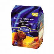 Tapete Higiênico Chalesco Premium Super Absorvente 90 x 60 cm para Cães (30 unidades)