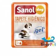 Tapete Higiênico Sanol Dog para Cães de todas as raças e idades 80 x 60 cm - Sanol (7 unidades)