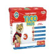 Tapete Higiênico Tico Pads para Cães 60 x 55 cm - Expet (30 unidades)