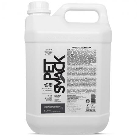 Xampu Pet Smack Pelos Escuros Alecrim, arnica & hamamélis para Cães e Gatos - Centagro (5 Litros)