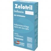 Zelotril Antibacteriano para Cães e Gatos à base de Enrofloxacina - Agener (12 comprimidos palatáveis)