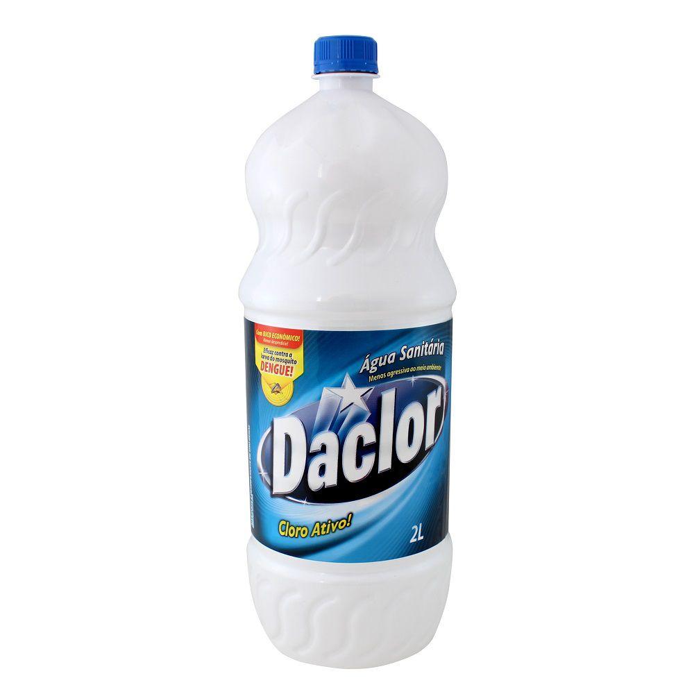 Água Sanitária Daclor Cloro Ativo (2l) - Total Química