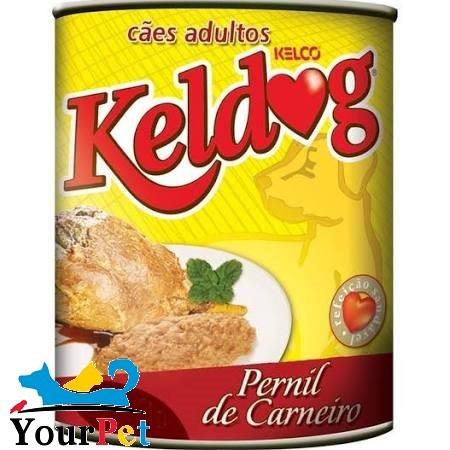Alimento úmido Keldog Lata Pernil de Carneiro para Cães Adultos (280g)