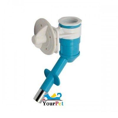 Bebedouro Automático de bilha acoplável em Garrafas e Torneiras - Savana Pet (Azul)
