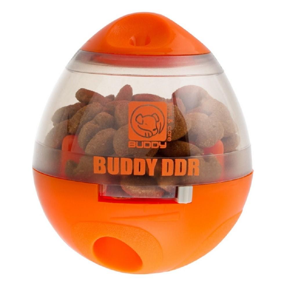 Brinquedo DDR Dispenser de Ração e Petiscos para Cães de todos os portes e idades - Buddy Toys