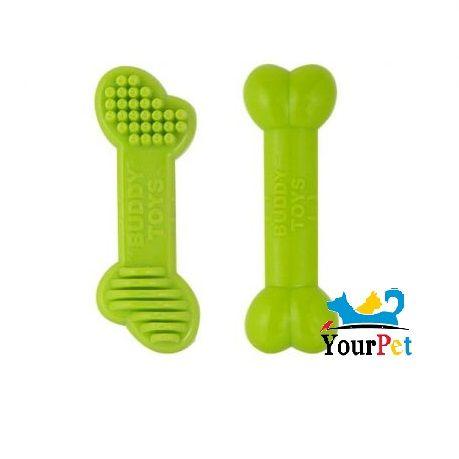 Brinquedo de Nylon para Cães Destruidores - Ossinhos Pequenos de Nylon - Buddy Toys