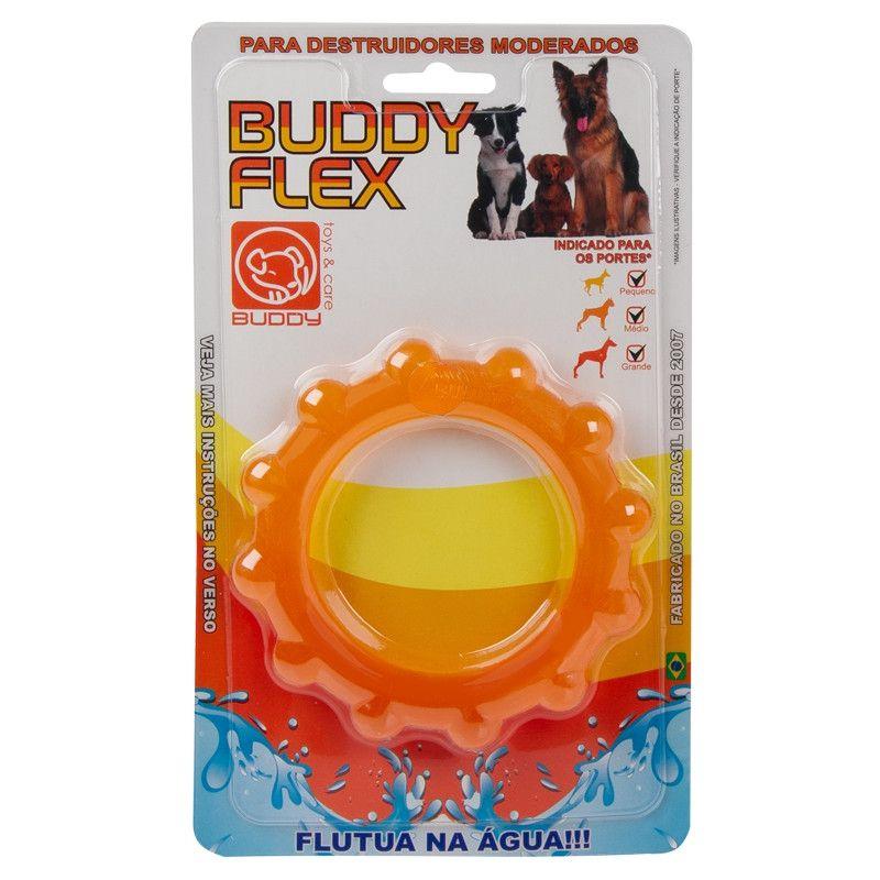 Brinquedo Flex para Cães - Disco Flex - Buddy Toys (Laranja)