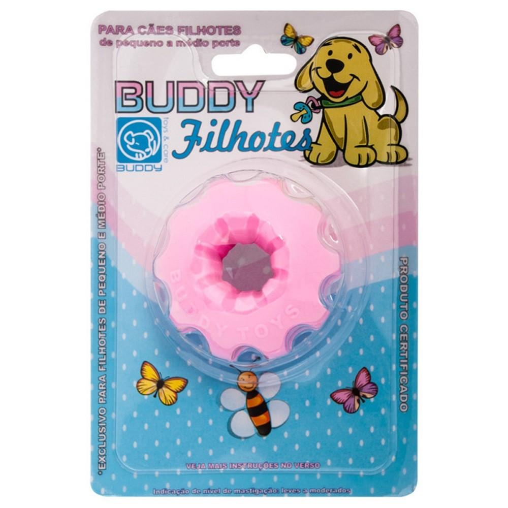 Brinquedo Flex Resistente para Cães Filhotes Mini Bolt Rosa - Buddy Toys