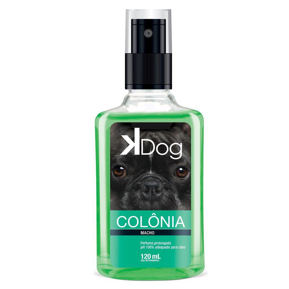 Colônia K Dog Macho para Cães e Gatos (120 ml) - Total Química