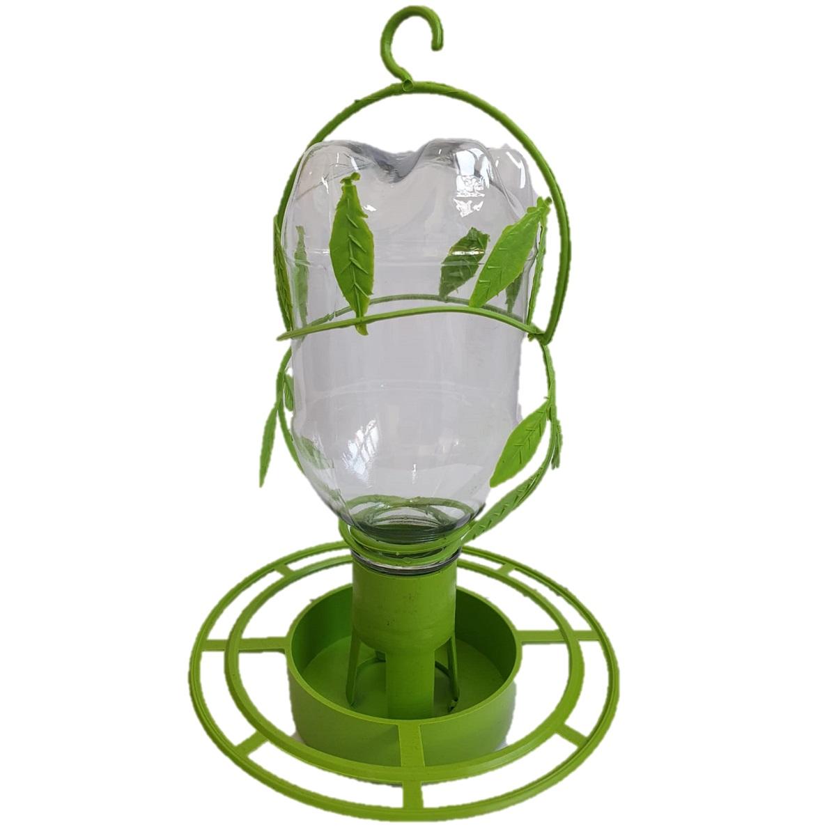 Comedouro Automático Silvestre Ekology para Pássaros (verde)