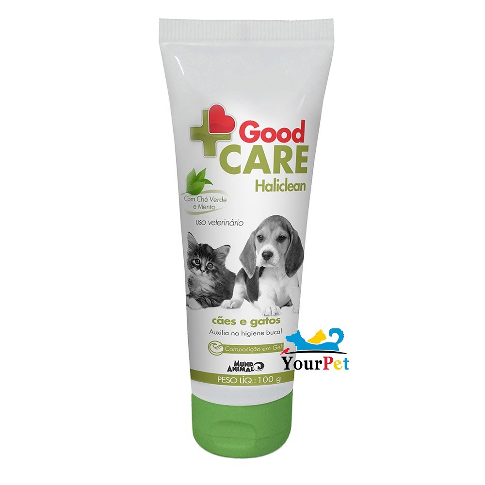 Gel Dental Good Care Haliclean (100g) - Mundo Animal