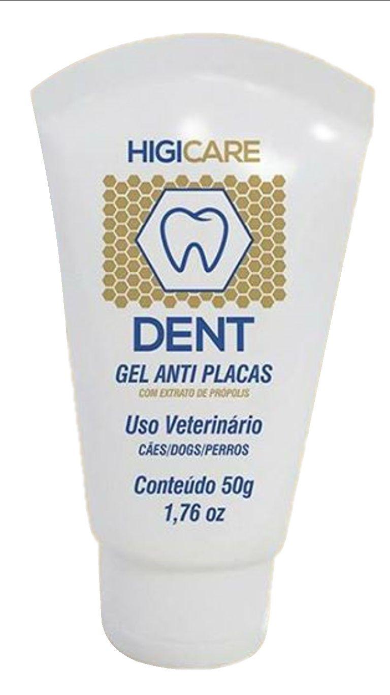 Higicare Dent - Gel Dental que ajuda na redução da placa bacteriana em Cães - Centagro (50g)