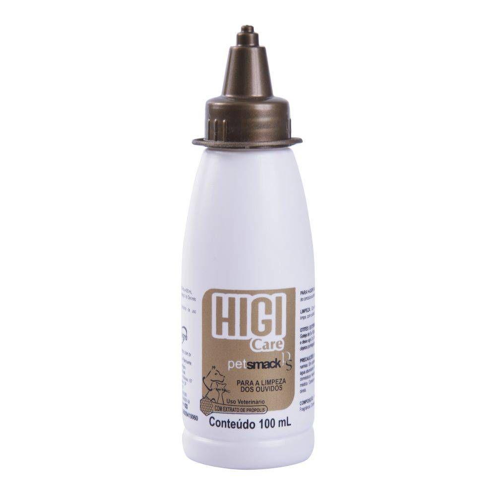 Higicare Oto - Limpeza dos ouvidos com extrato de própolis para Cães e Gatos - Centagro (100 ml)