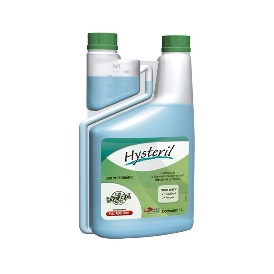 Hysteril Desinfetante e eliminador de odores com alto poder germicida - Agener (1 litro - rende 400 litros)
