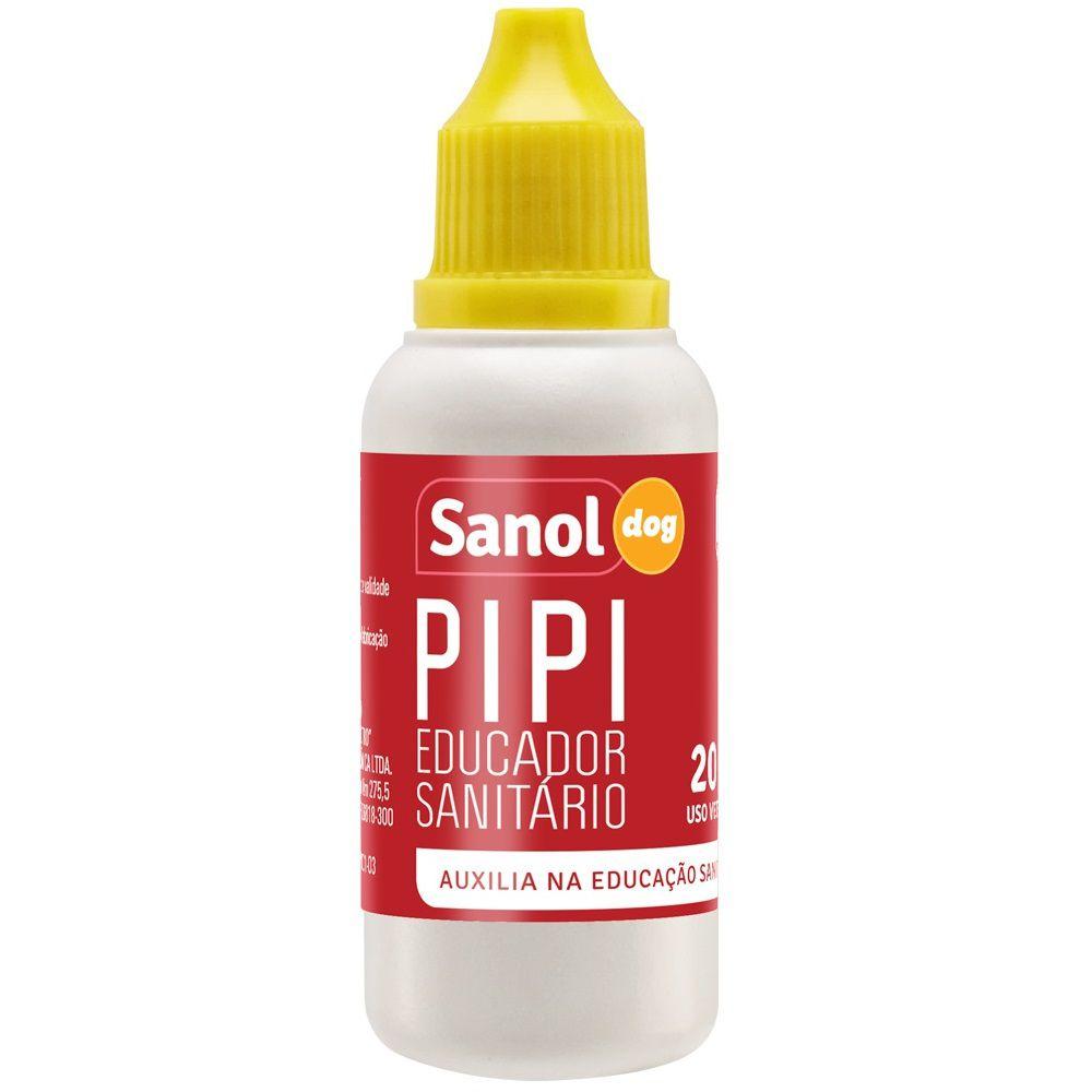Kit Educador Sanitário Sanol Stop Dog (500 ml) + Pipi Dog (20ml) para Cães - Total Química