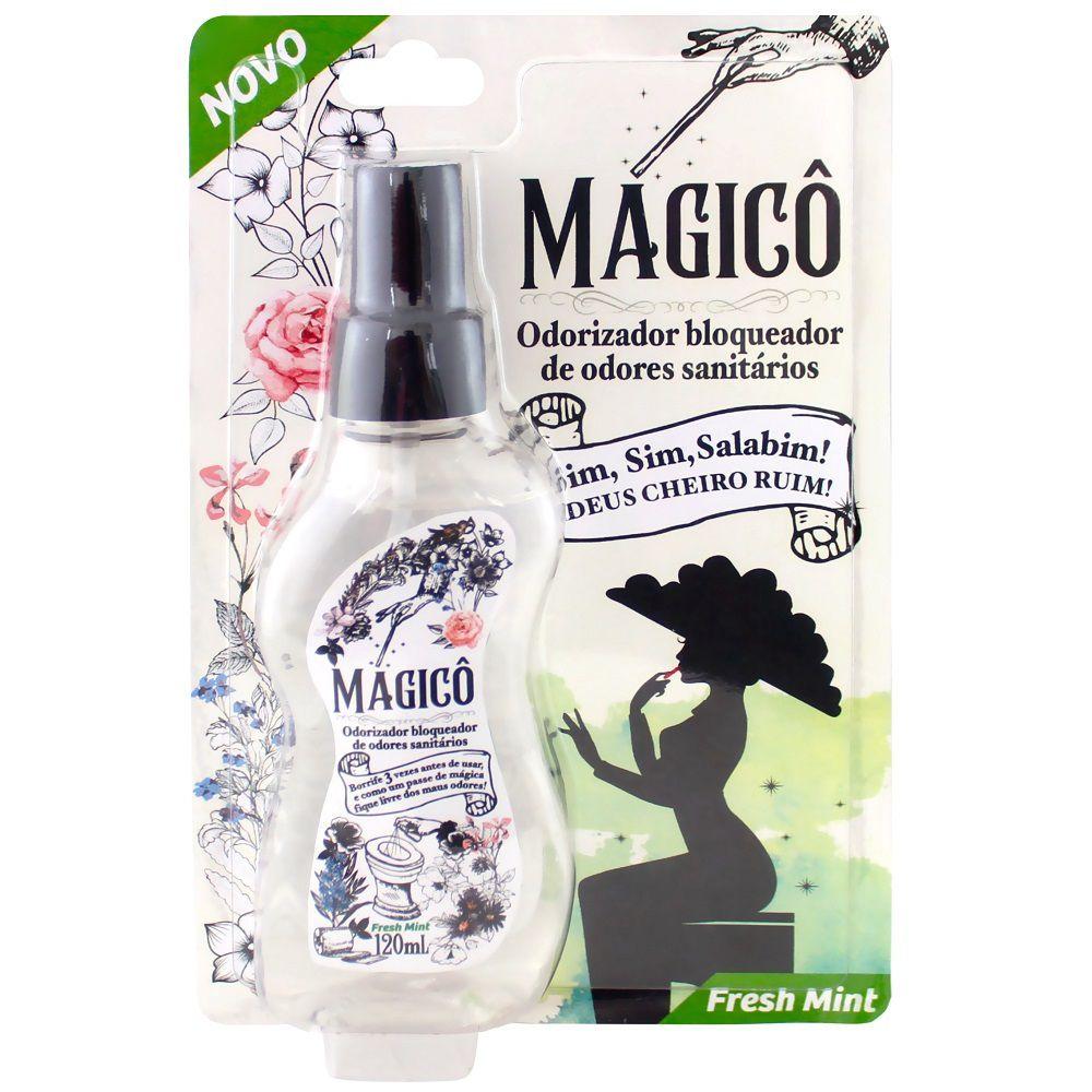 Magicô Odorizador Bloqueador de odores Sanitários (120 ml) - Sanol