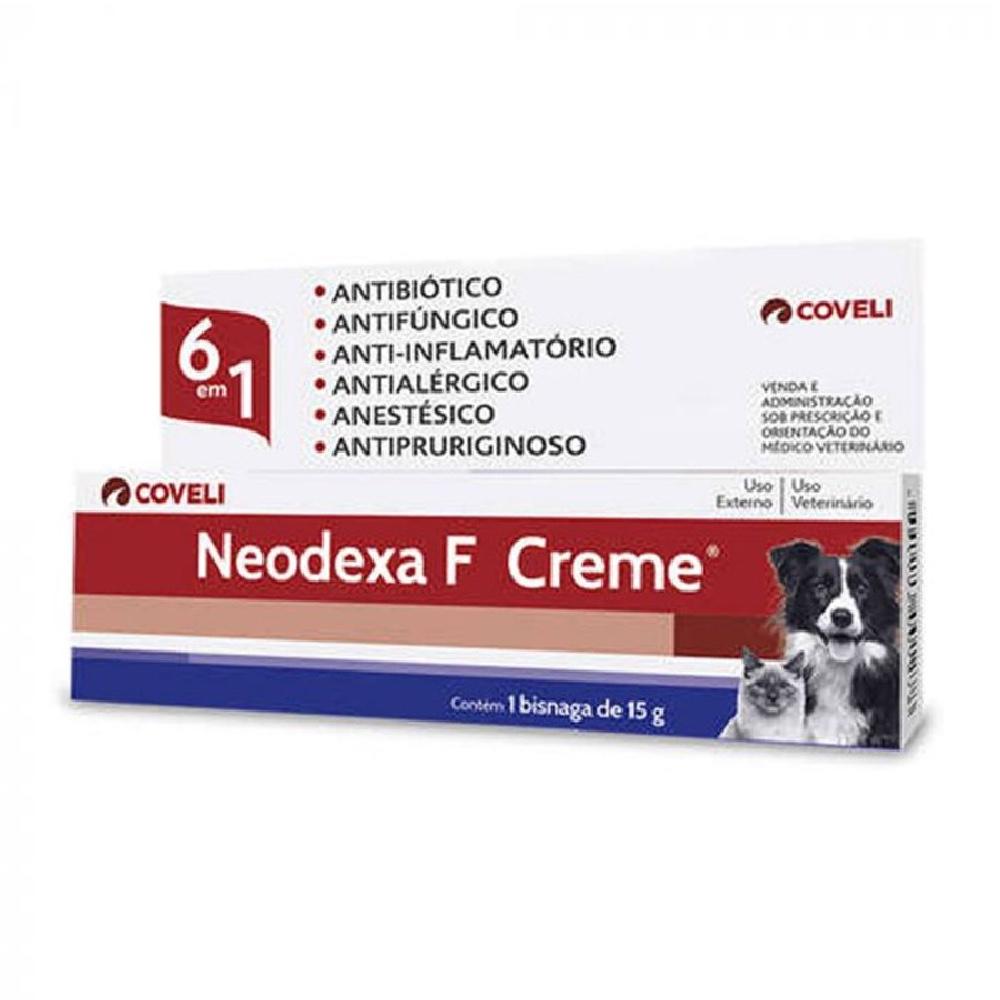 Neodexa F Creme 6 em 1 - Coveli (15 g)