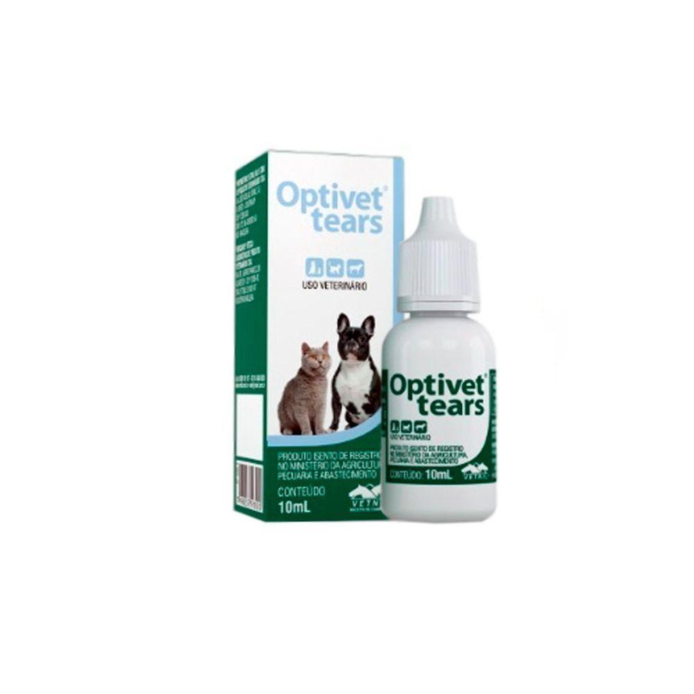Optivet Tears - Solução oftálmica lubrificante e de higienização - Vetnil (10 ml)