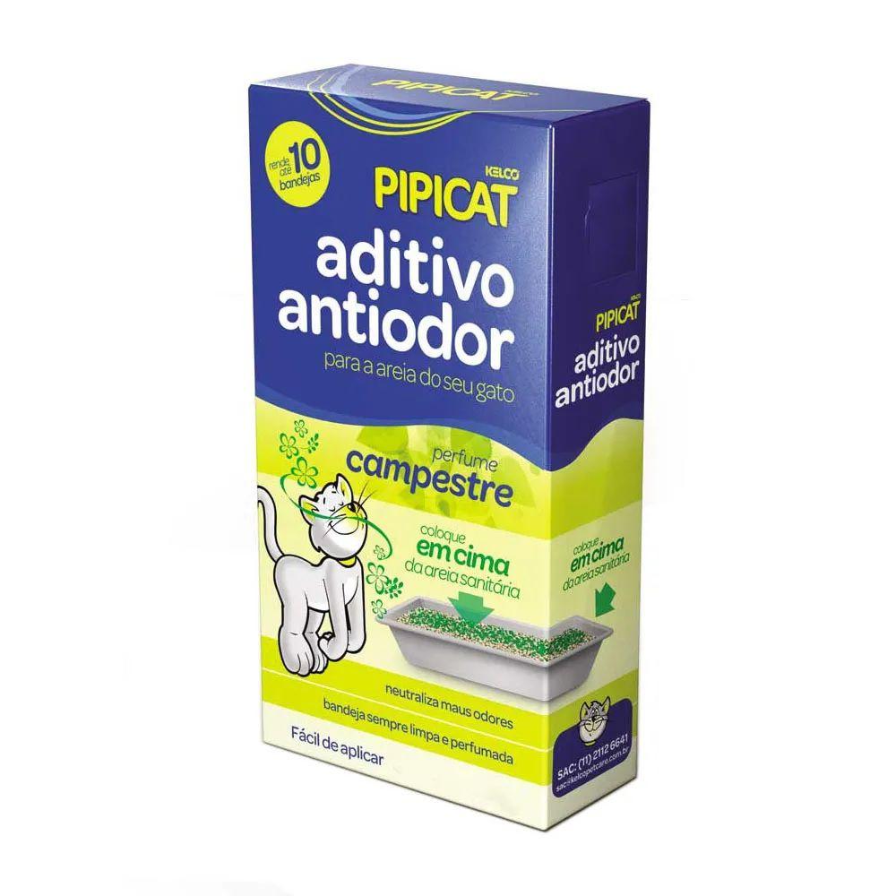 Pipicat Aditivo Antiodor Sanitário Perfume Campestre para Gatos (500g) - Kelco