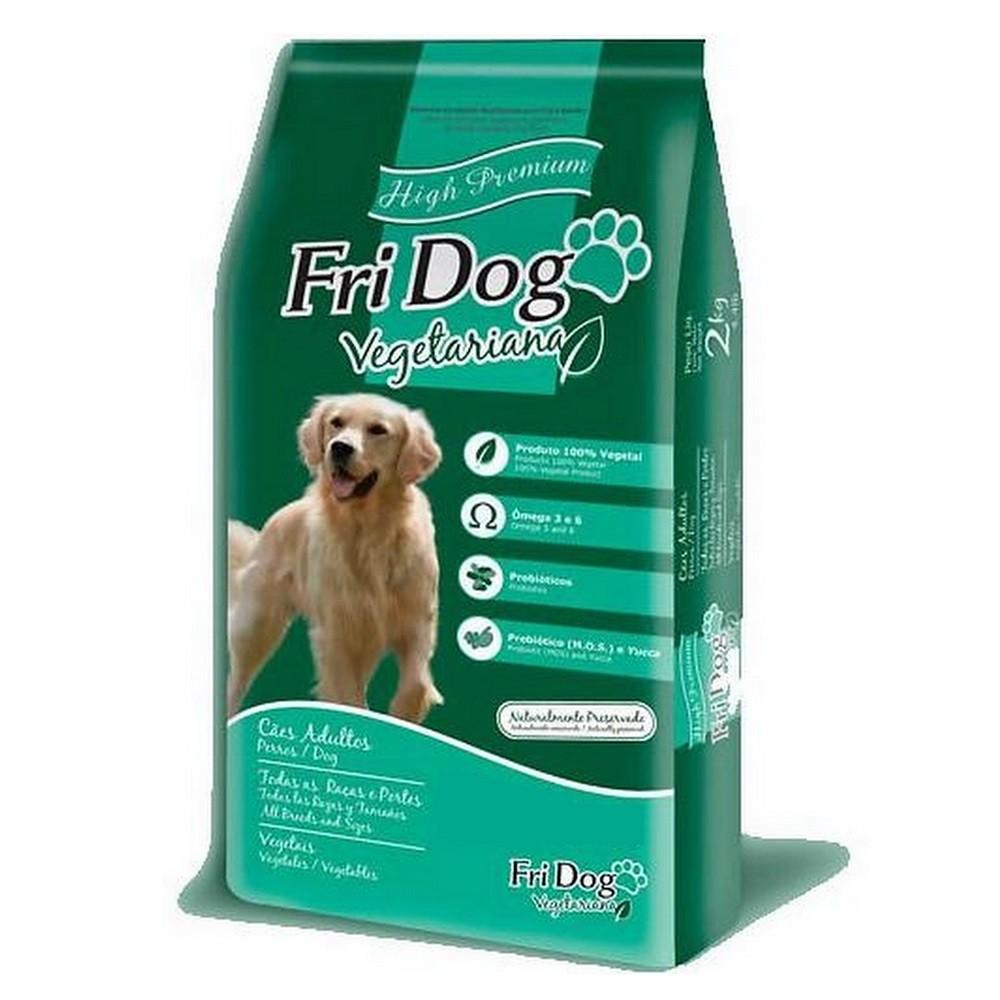 Ração Fri Dog Vegetariana Para Cães Adultos (2kg)