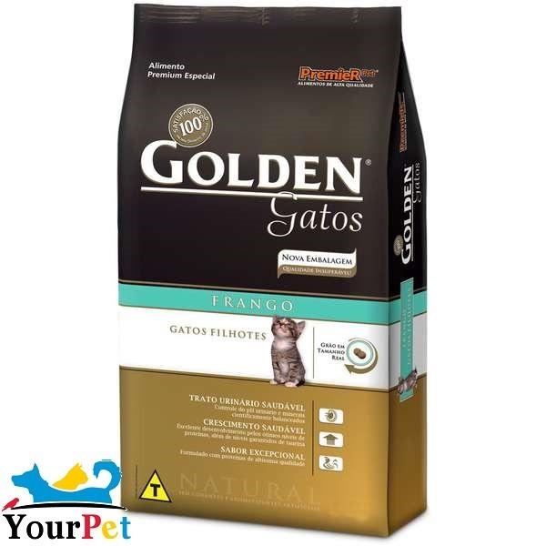 Ração Golden Filhotes para Gatos - PremieR (10,1 kg)