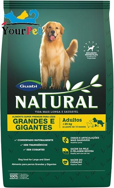 Ração Guabi Natural Cães Adultos Grandes e Gigantes (15 kg)