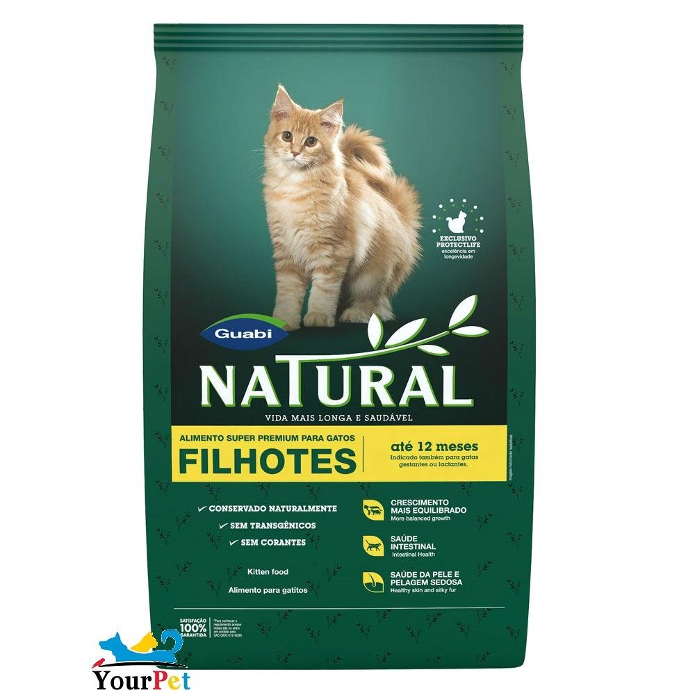 Ração Guabi Natural para Gatos Filhotes (1,5 kg)