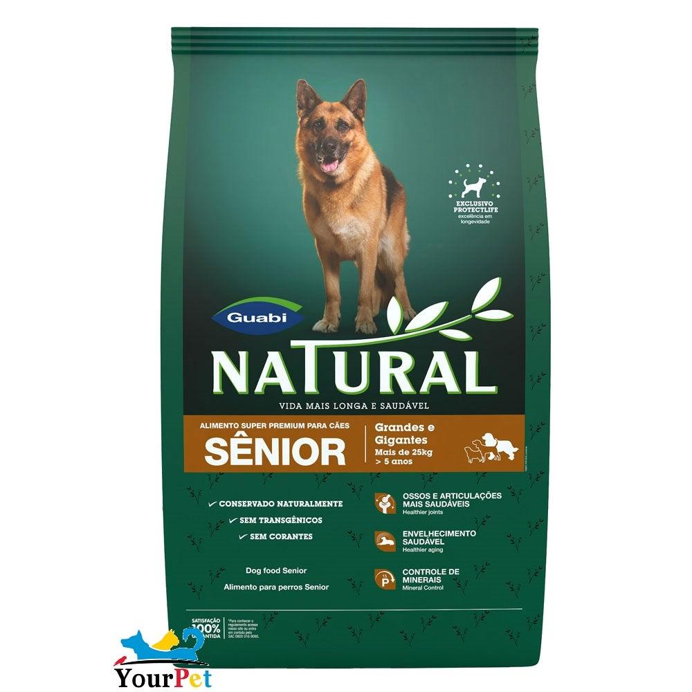 Ração Guabi Natural Senior para Cães Acima de 7 anos (15 kg)