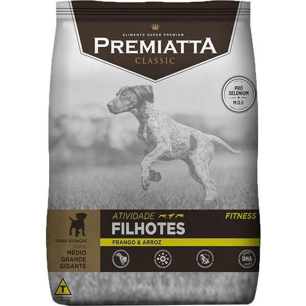 Ração Premiatta Atividade Fitness Filhotes Cães de Raças Médias, Grandes e Gigantes  - Gran Premiatta (15 kg)