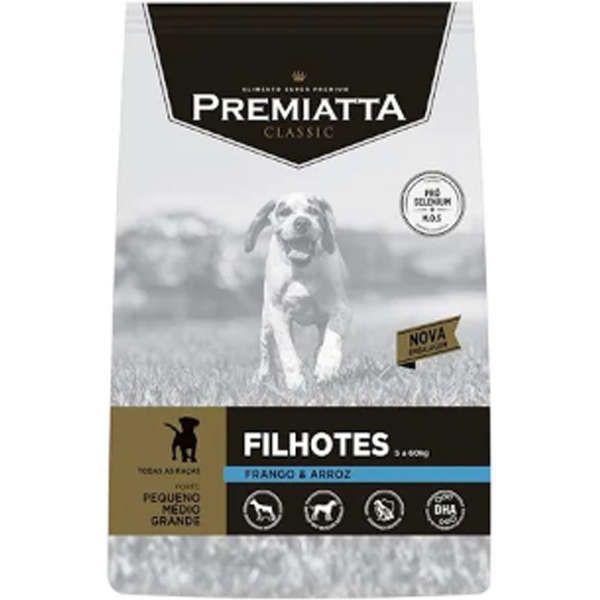 Ração Premiatta Classic Filhotes para Cães Filhotes de todas as raças - Gran Premiatta (3kg)