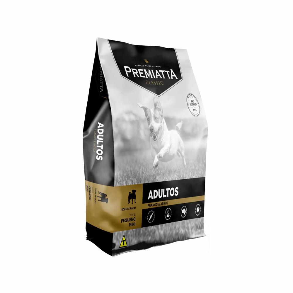 Ração Premiatta Classic Mini Bits para Cães Adultos de Raças Miniaturas e Pequenas - Gran Premiatta