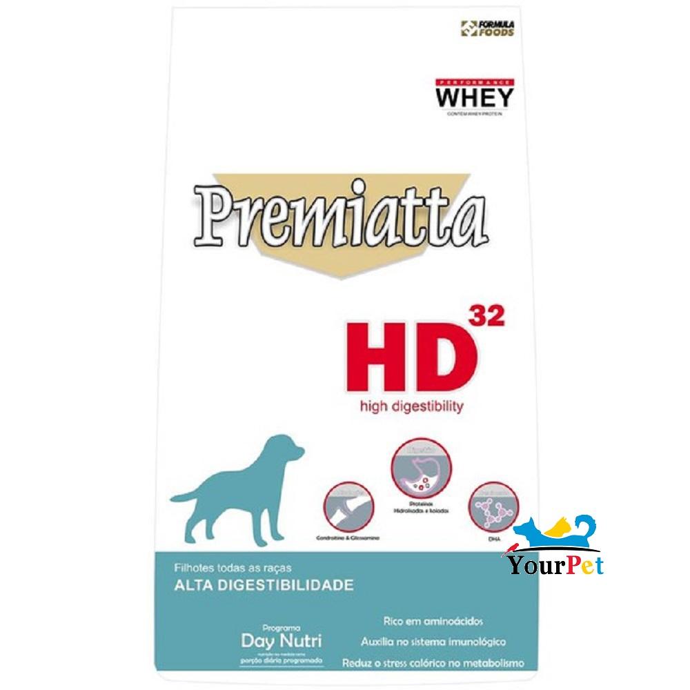 Ração Premiatta HD 32 Todas as Raças para Cães Filhotes (6 kg)