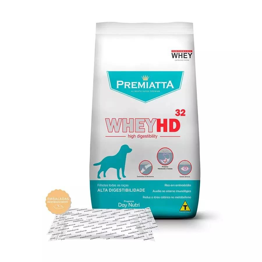 Ração Premiatta Whey HD 32 para Cães Filhotes de Todas as Raças Lágrima Ácida - Gran Premiatta (6 kg=30x200g)