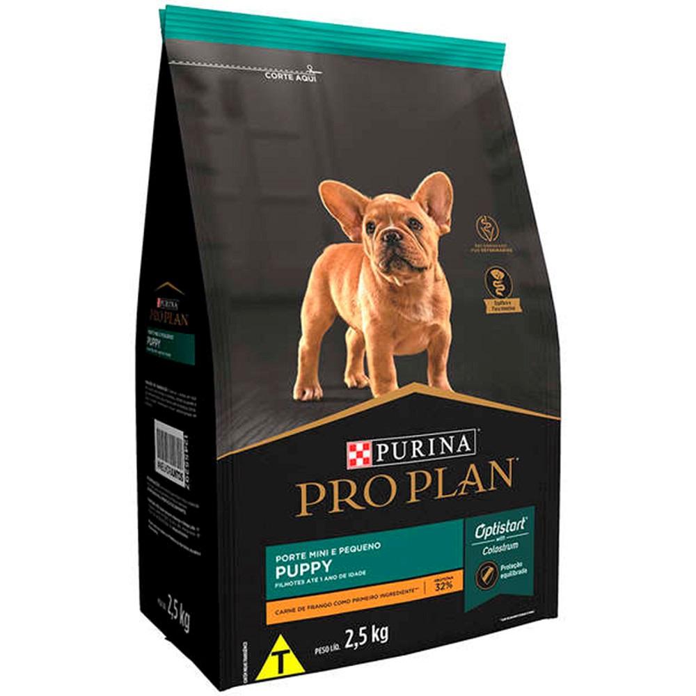 Ração Pro Plan Puppy Cães Filhotes de Raças Mini e Pequenas sabor Frango (2,5kg) - Nestlé Purina